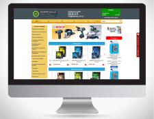 Дизайн сайта Inteshop