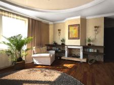 Визуализация квартиры в Питере.