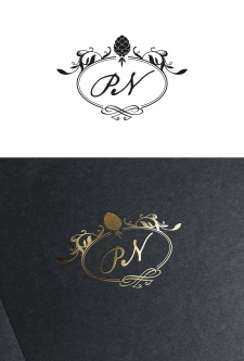 """Логотип для ресторана """"Pinot Noir"""""""