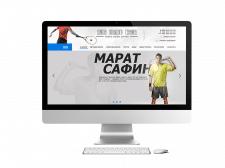 Сайт для школы большого тенниса им. Марата Сафина