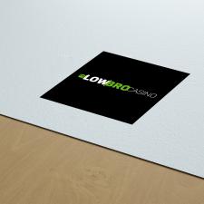 логотип для онлайн казино Low Bro