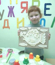 Уроки творчества в детском центре