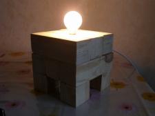 """Лампа-трансформер """"КУБ"""""""