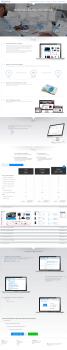 landing Page на Bootstrap 3 из макета PSD