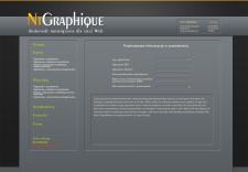 Дизайн интерфейса управления сайтом. Концепт.
