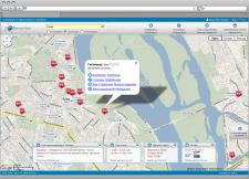 Навигационно-информационный сайт для Ворлдсервис групп