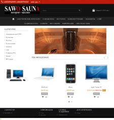 Создание сайта sawo-sauna.com.ua