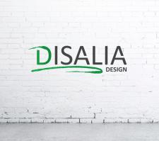 """Логотип для дизайн-студии """"DISALIA"""""""