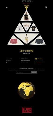 Shopify магазин для Франции