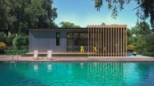 Архитектурный дизайн дома из морского контейнера