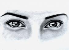 Глаза. Карандаш