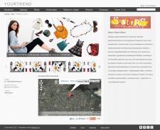 Интернет каталог модной одежды
