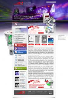 Сайт по электрооборудованию