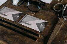 Дизайн визитки для коммерческого использования