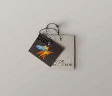 Логотип танцевальной студии.