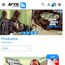 Интернет магазин Shopify afyx-gaming.com
