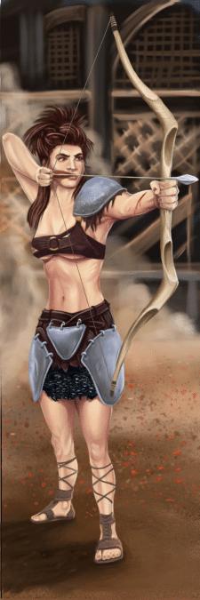 гладиаторша