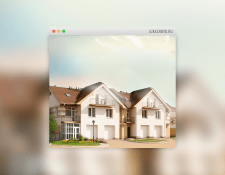 Флеш-сайт коттеджного поселка «Лукашово-2»