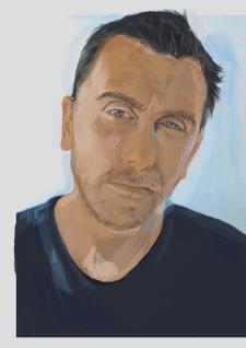 Портрет по фото. 2D графика. Wacom, Photoshop