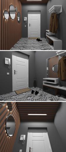 Прихожая в маленькой квартире