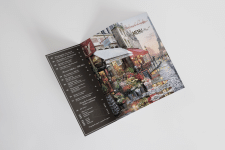 tri fold brochure menu