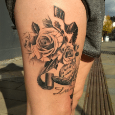 Тату розы tattoo roses