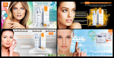 Banners for a Punch Skin Care