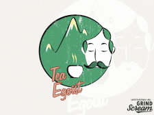 Logo concept for tea shop