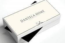 Логотип для Dantelа Home, вариант 2