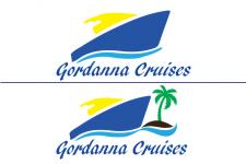 Логотип для круизной компании 2 варианта