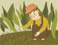 Из воспоминаний в саду