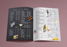 Алкогольное меню