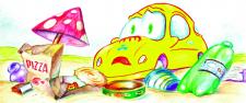 Пригоди маленької жовтої машинки Піпі одна из 26 и