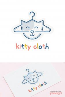 Kitty Cloth - Создание логотипа
