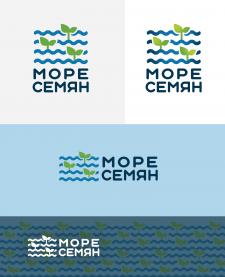 Разработка лого Море Семян