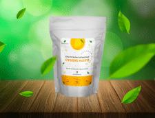 Дизайн наклейки на упаковку сушеного манго 1