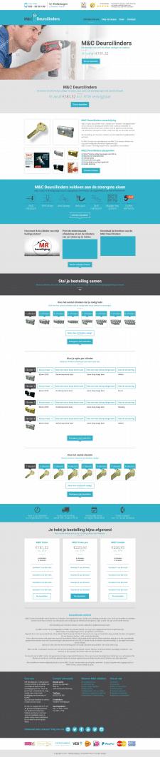 Онлайн магазин — конфигуратор замков М&С Deurcili