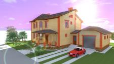 Индивидуальный дом, г. Хмельницкий Лезнево 4