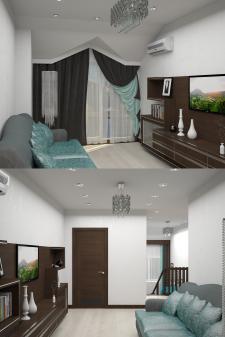 Частный дом в г. Одесса (Холл _ 2-го этажа(2))
