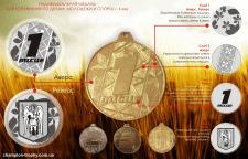 Дизайн медали