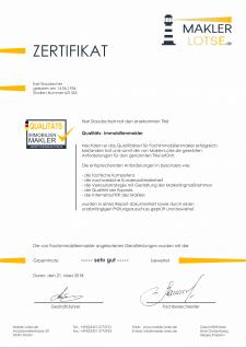 Разработка сертификата Makler Lotse