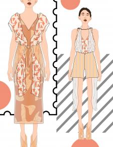 Дизайн одежды, fashion-иллюстрация