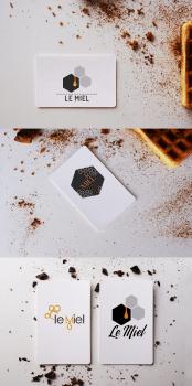 Варианты логотипов для Le Miel