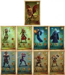 Персонажи для настольной  игры (карты)