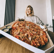 Qr_pizza - сервис доставки пиццы/роллов