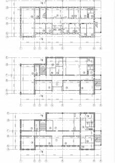 Поэтажные планы реконструкции школы искусств