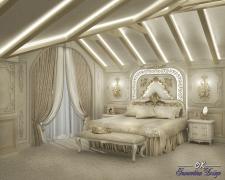 Спальня. Классический стиль.