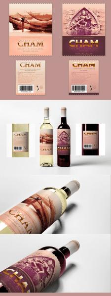 Дизайн этикетки для вин