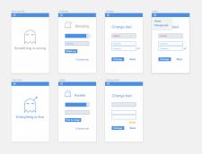 Дизайн мобильного приложения со скрытой функцией