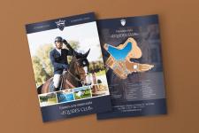 Дизайн Альбома конного клуба EQUIDES